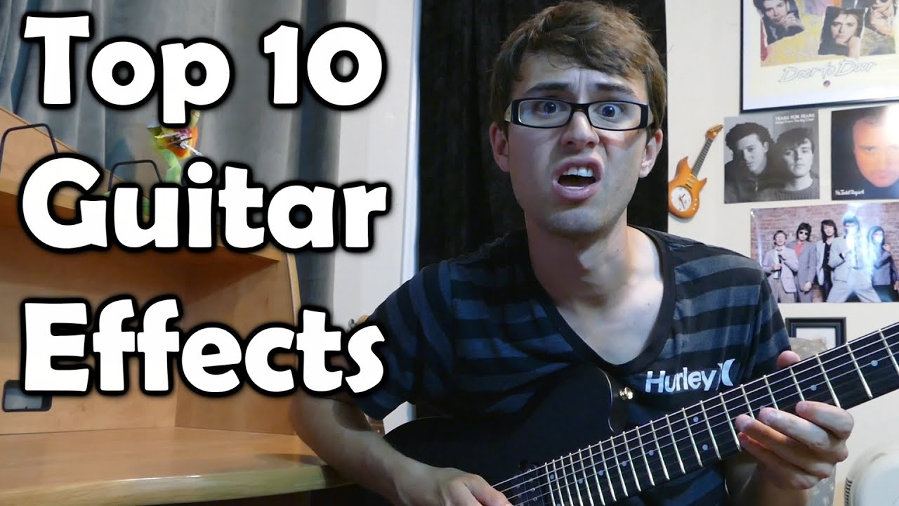 Top 10 Guitar Effects  Chords