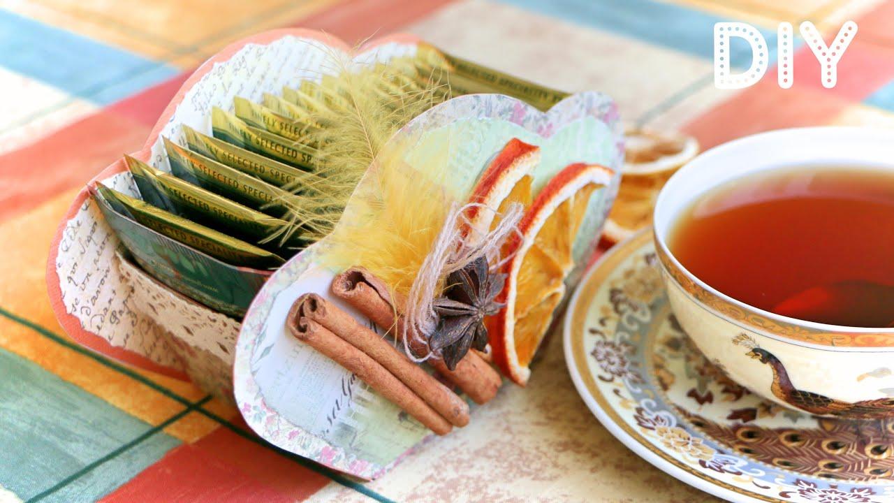 Коробочка для Чайных Пакетиков Своими Руками / Tea Box ...