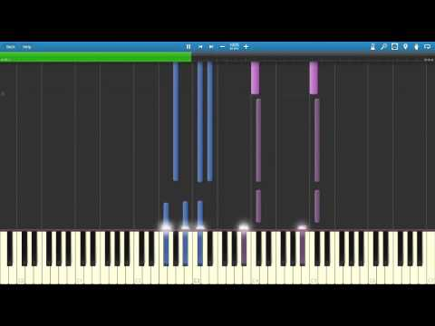 Survive The Swordland - Sword Art Online OST (Piano Tutorial) [Synthesia]