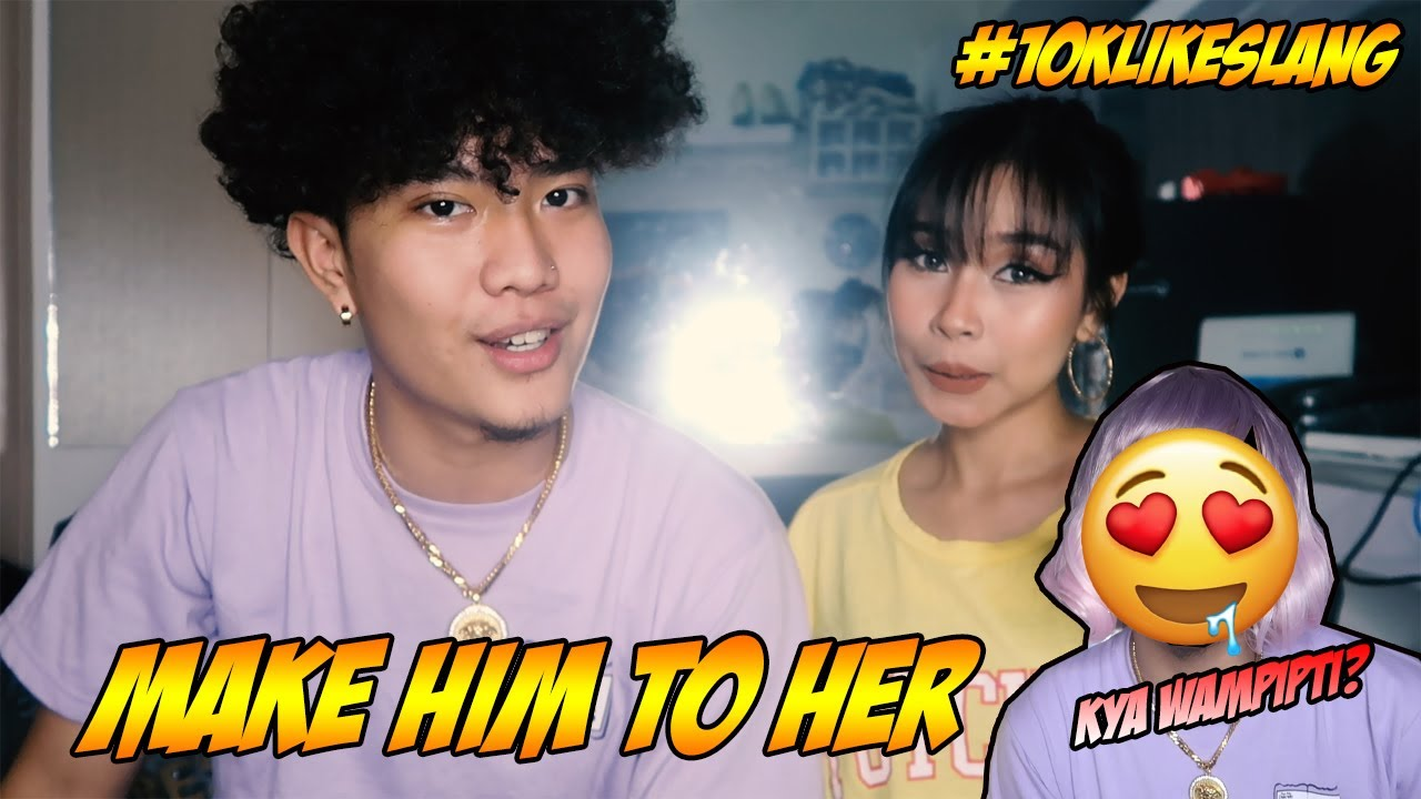 MAKE HIM TO HER CHALLENGE (MAY KAMUKHA) FT. ROSE DINEROS | JOSHUA AGATEP