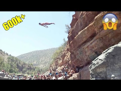 Cliff Jumping - Paradise Valley Agadir