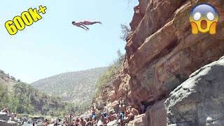 Cliff Jumping - Paradise valley Agadir