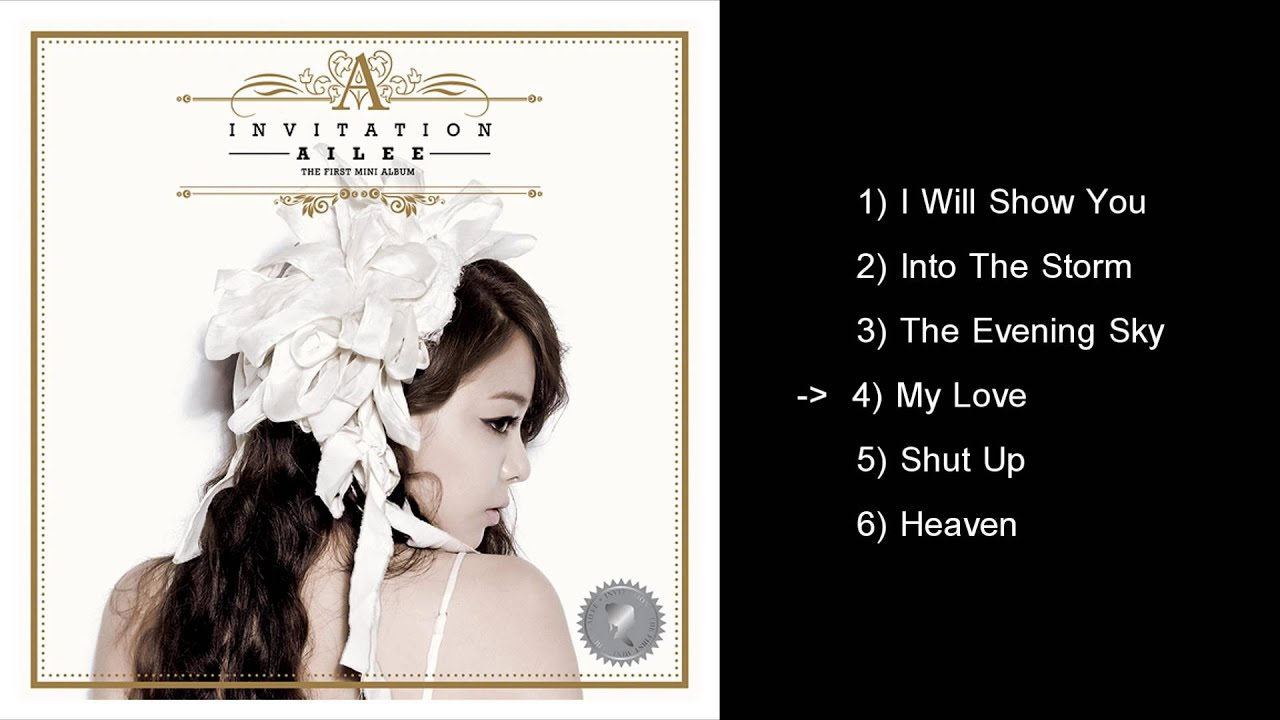 Ailee invitation full album hq youtube stopboris Gallery