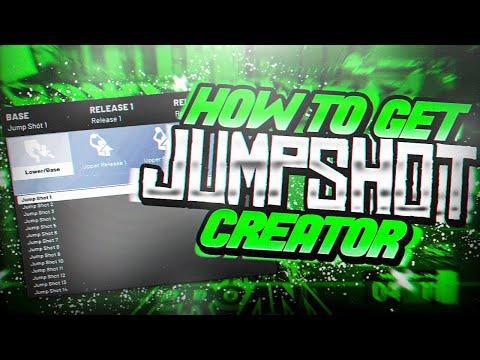 FASTEST WAY TO UNLOCK CUSTOM JUMPSHOT CREATOR IN NBA 2K20! BEST CUSTOM JUMPSHOT IN NBA 2K20!