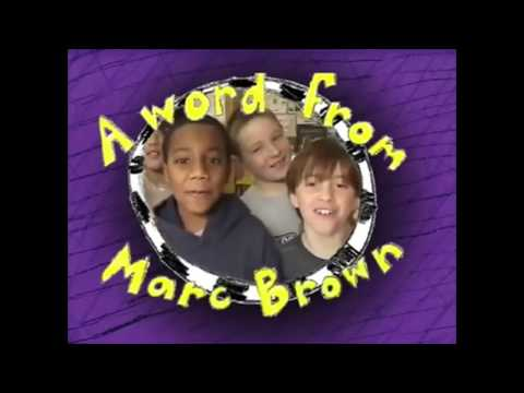 A Word From Marc Brown (From Arthur's Perfect Christmas and more)