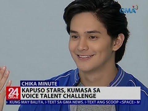 Kapuso stars, kumasa sa voice talent challenge