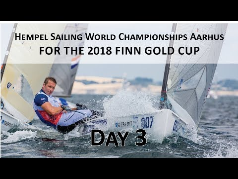 Highlights from Day 3 at the 2018 Finn Gold Cup in Aarhus
