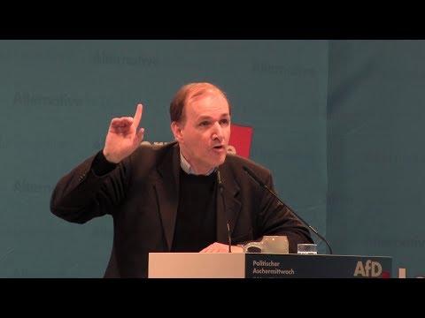Dr. Gottfried Curio AfD - Politischer Aschermittwoch in Osterhofen 26.02.2020 - Bananenrepublik