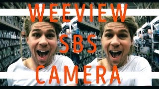 WEEVIEW SBS 3K STEREO VR CAMERA TRAVEL TEST!