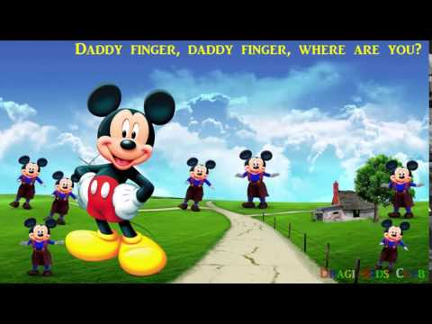 Finger Family Mickey Mouse Collection | Kids Songs | Nursery Rhymes for Children | Mickey Mouse