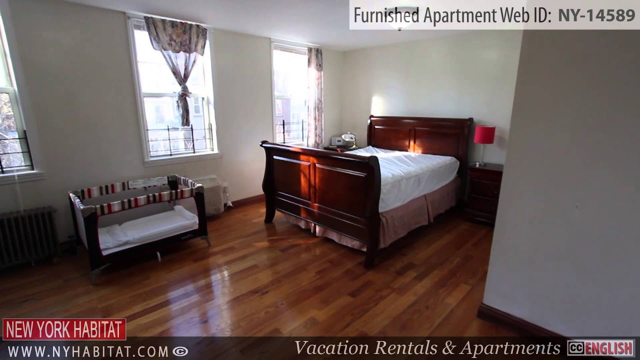Video Tour of a 2 Bedroom Furnished Apartment in Fort Greene