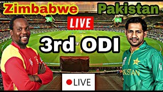🔴 Watch Live Match 3rd ODI Pakistan Vs Zimbabwe 2018