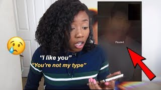 I TELL MY CRUSH I LIKE HIM (LIVE REACTION)