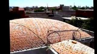 Catalan Vaults & domes. Finish insolate and waterproof cover,