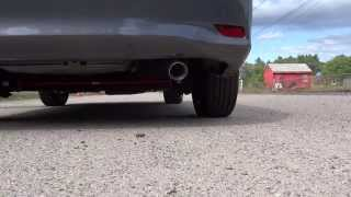 borla pro xs exhaust 2013 toyota corolla stock vs borla revving comparison