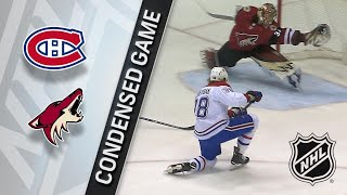 02/15/18 Condensed Game: Canadiens @ Coyotes