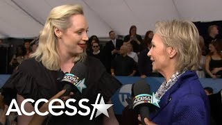 Jane Lynch Crashes Gwendoline Christie's Interview And Fangirls Over Meeting Her For The First Time!