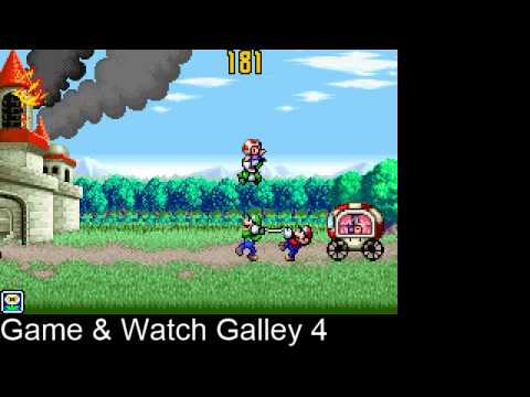 Game And Watch Gallery 4: Fire