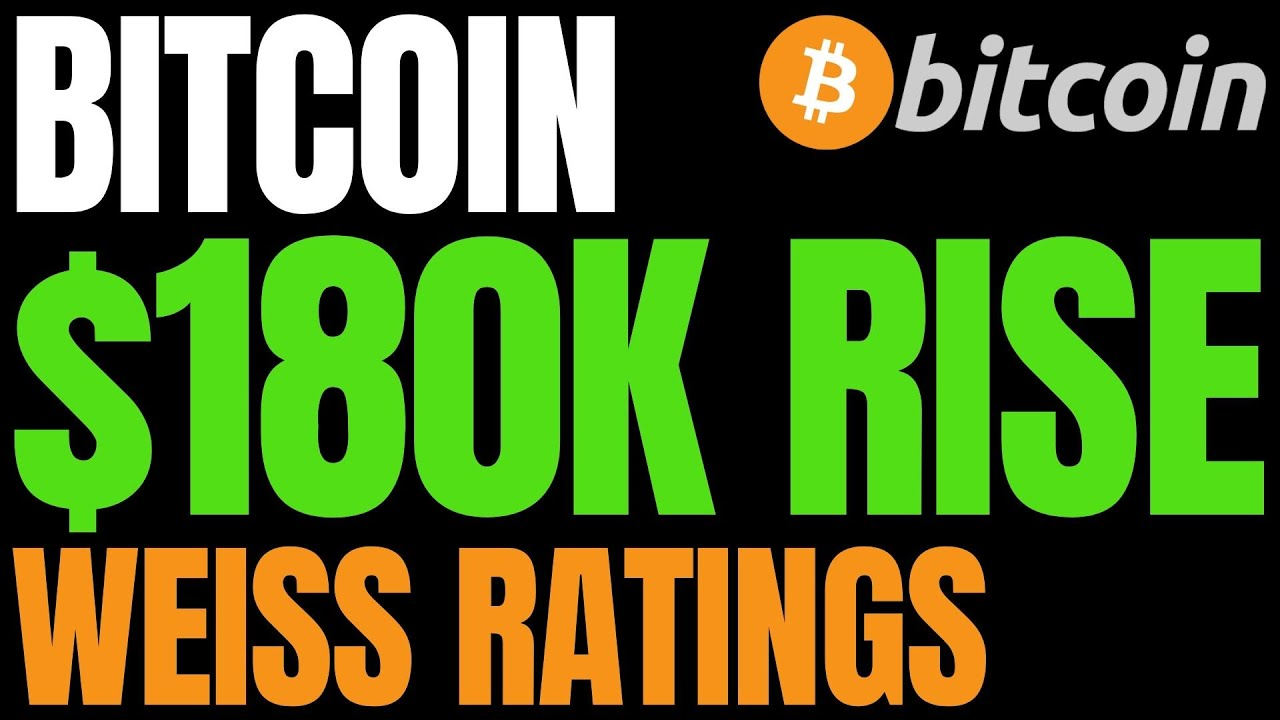 Here's the Case for Bitcoin Rise to $180,000, According to Weiss Ratings | BTC News Today!!
