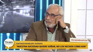 Demoledora reflexión del filósofo Kovadloff sobre Alberto Fernández: