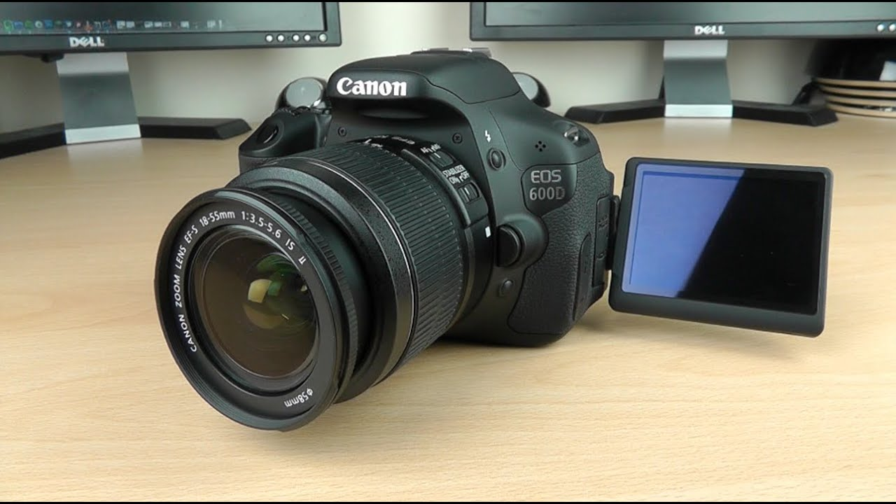 Unboxing canon 600d t3i dslr camera youtube for Housse canon eos 600d