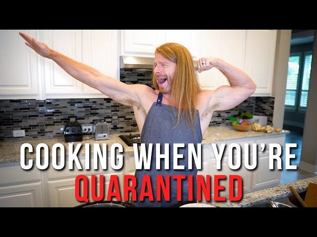 Cooking When You're Quarantined - Cooking with a Narcissist Ep. 3