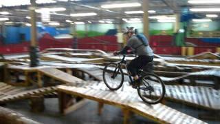 LHORBA / Doug rides swinging bridges at Rays