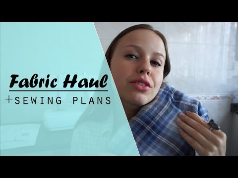 FABRIC & SEWING HAUL | October 2016 // Valeria Speck