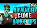 Advanced Tips + Tricks For Close Range Fights In Fortnite! (Fortnite Aim + Building + Edit Tips)