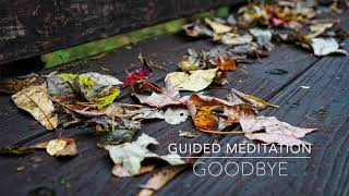 GOODBYE: 3 Minute Guided Meditation | A.G.A.P.E. Wellness