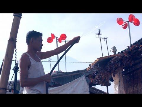 Plastic buckets help power Vietnamese slum