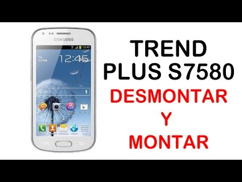 Reparar Samsung Galaxy Trend Plus S7580 (disassembly and assembly)