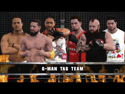 VGW: Attack Slug/Big Chico/Cronin vs. The Bully/Bruiser Bonifer/Matt Castle (WWE2K17)