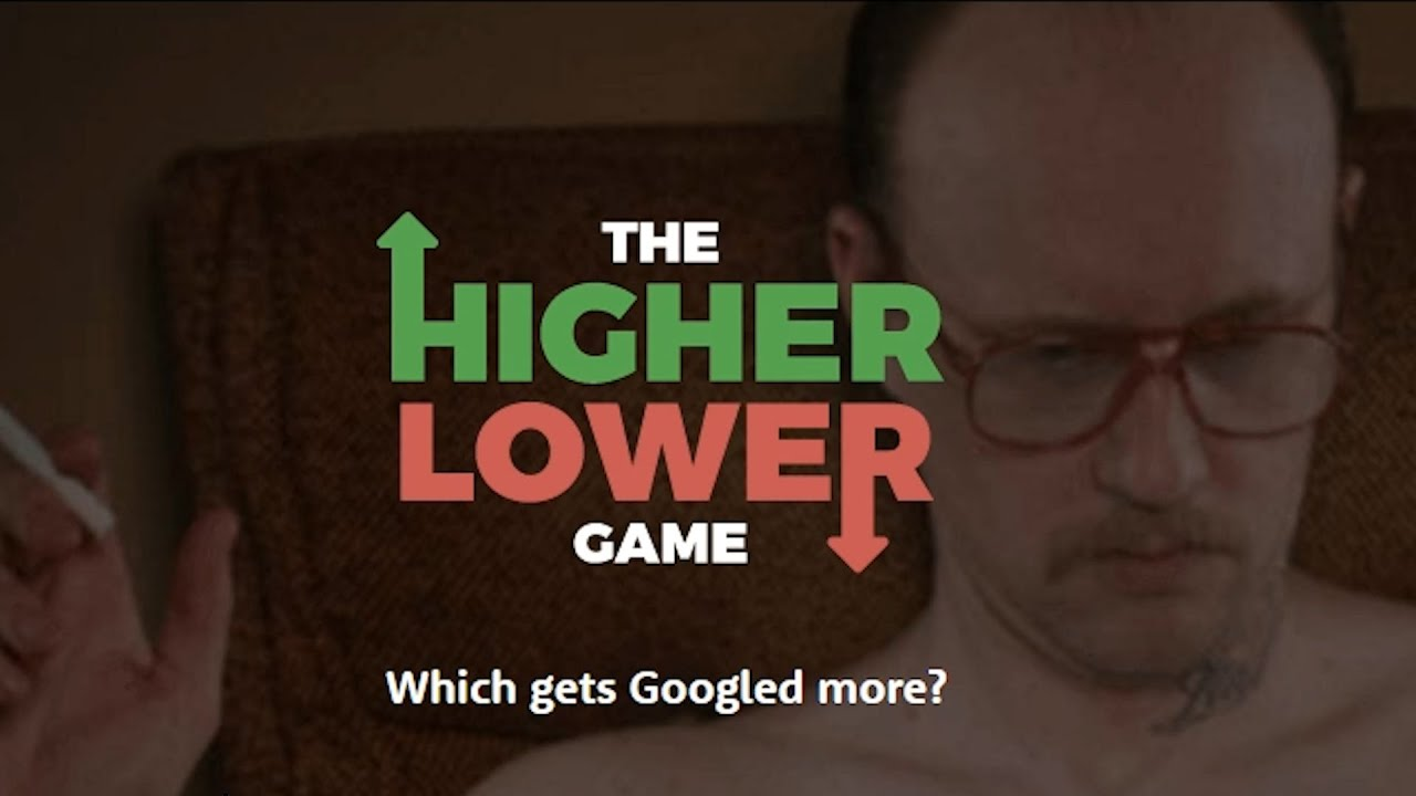 What happened last week? - The Higher Lower Game - YouTube