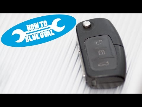 how to ford key fob battery replacement doovi. Black Bedroom Furniture Sets. Home Design Ideas