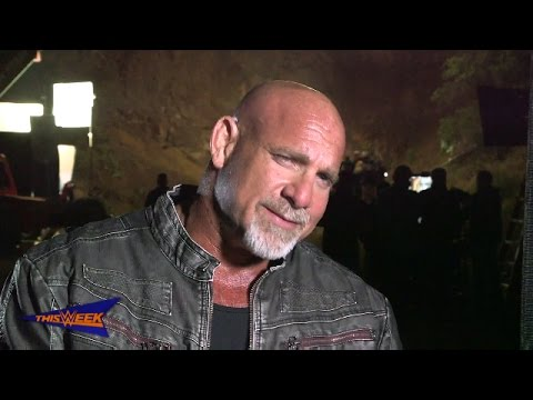 Behind the Scenes: Goldberg's WWE 2K17 commercial