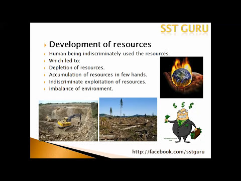 Resource and development Class 10 SST Geography -part 1 -  CBSE Contemporary India 2 - NCERT