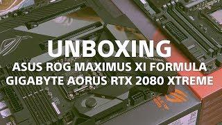 [Scoatere din cutie] Asus ROG Maximus XI Formula + Gigabyte Aorus RTX 2080 Xtreme #wasdro