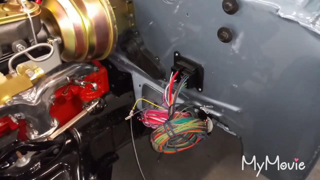 American Autowire Bulkhead Connector Trim