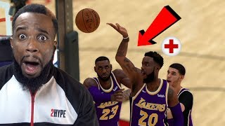 I GOT INJURED IN GAME 2! Rockets vs Lakers NBA 2K19 Playoffs MyCareer Ep 62