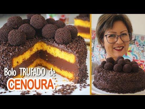 BOLO DE CENOURA TRUFADO | ESPECIAL DIA DOS PAIS | DIKA DA NAKA