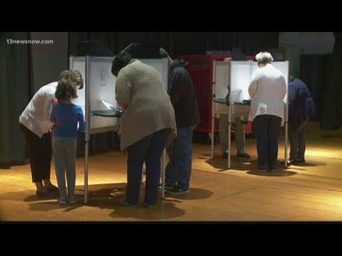 Western Branch Middle School precinct gets wrong ballots