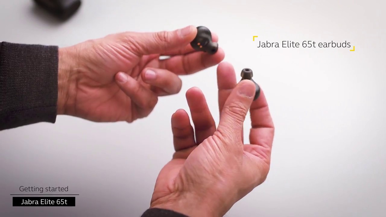 Getting started Jabra Elite 65t