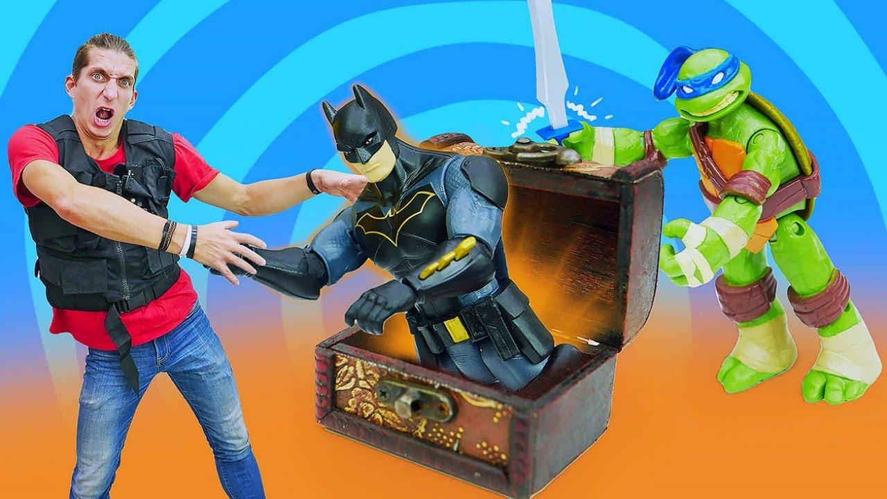 Игры для мальчиков - Супергерои и Черепашки Ниндзя нашли ...