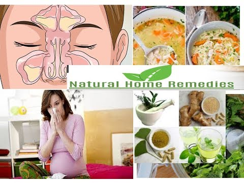 Natural Home Remedies to cure a cold and flu during pregnancy
