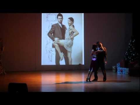 Tangosentiment Xmas Tango show at the Emirates Theater in dubai