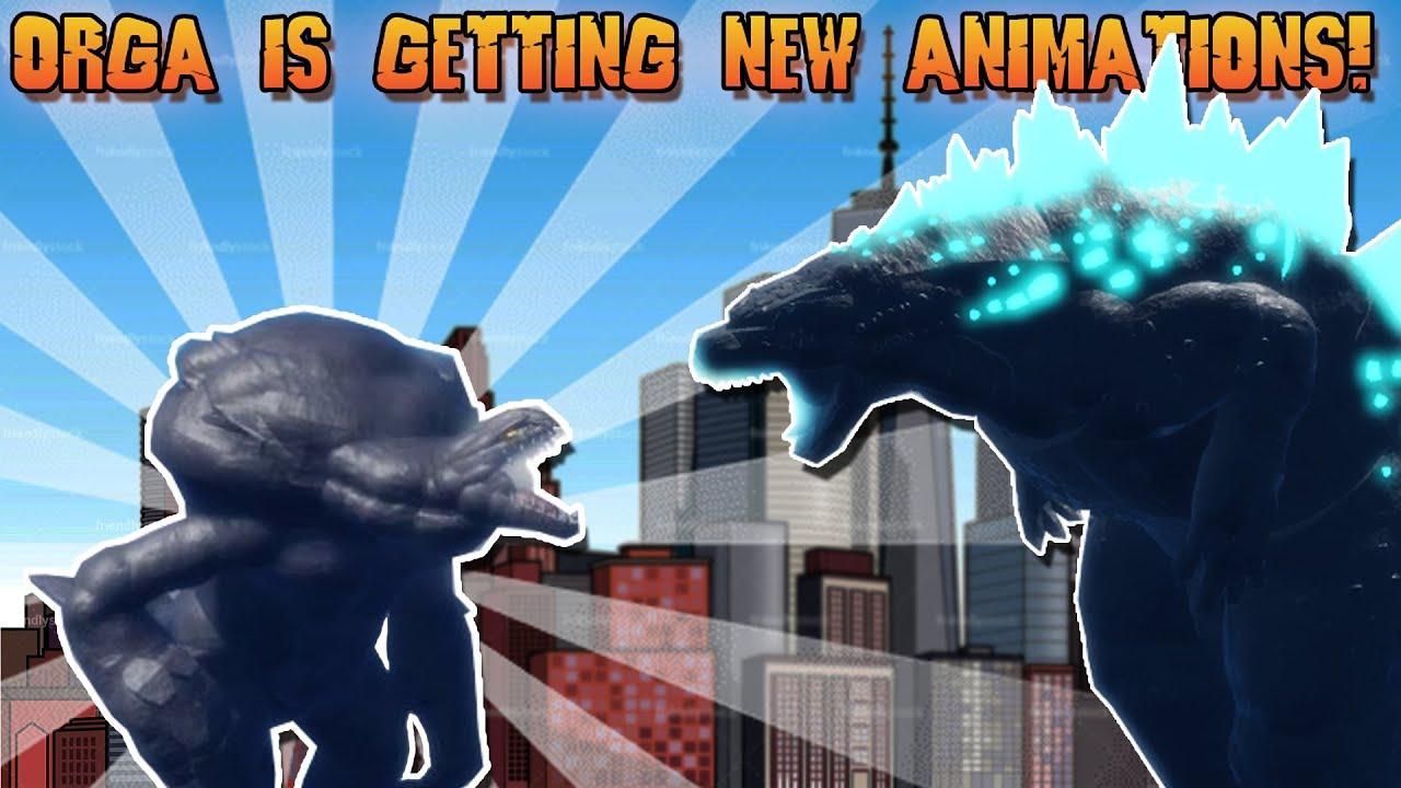 ORGA IS GETTING NEW ANIMATIONS! | Roblox Project Kaiju