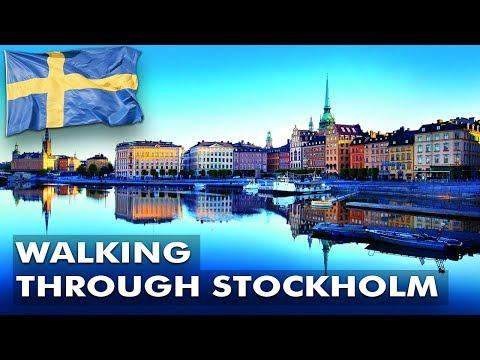 Walking Through Stockholm Sweden 2018