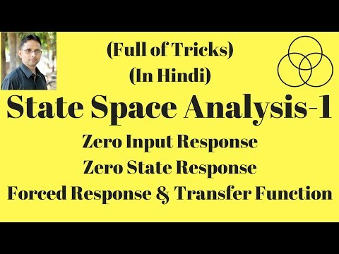 Zero state response in state space analysis (Control System-