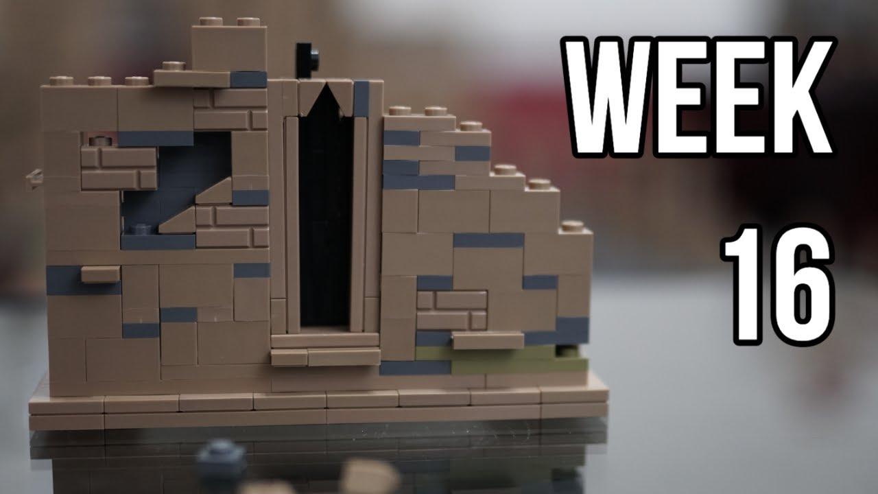 Download Building Hogwarts in LEGO - Week #16: Courtyard Buildings